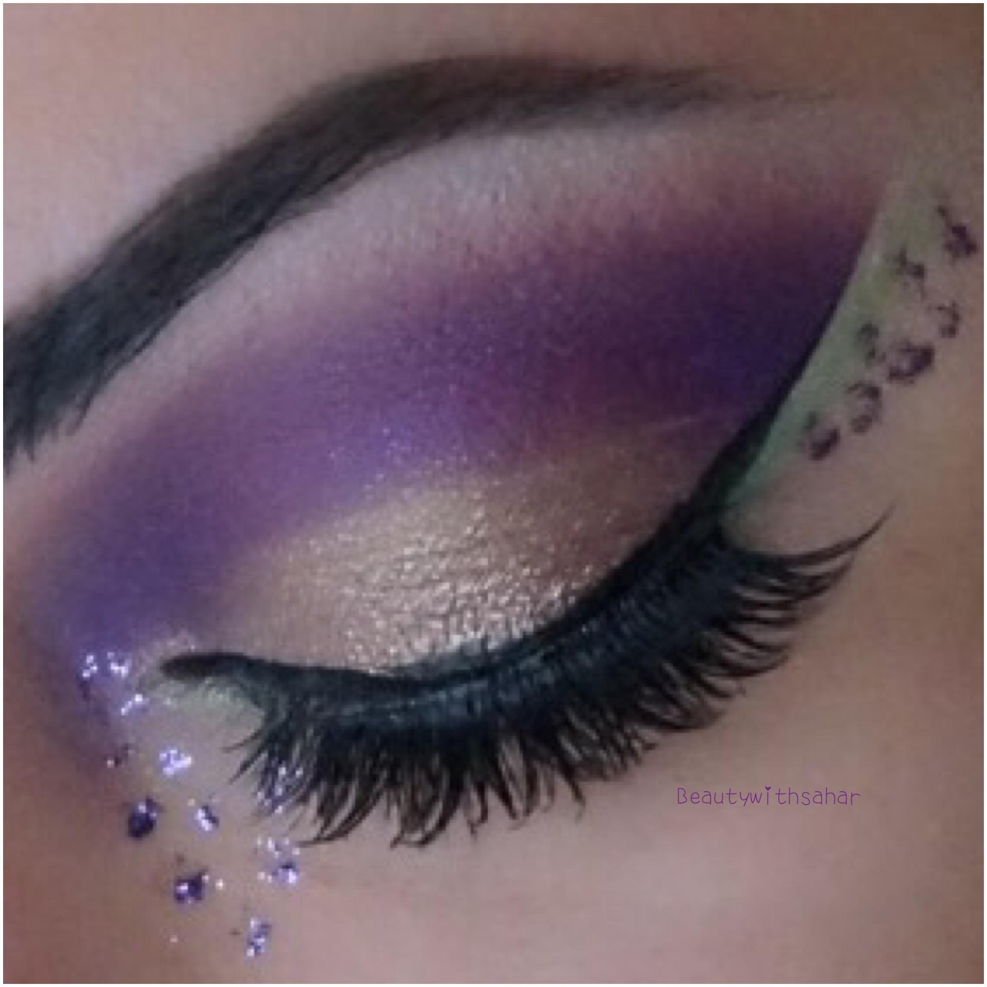 Mardi Gras Makeup Beautywithsahar